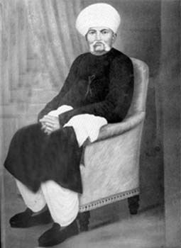 Father-Karamchand Gandhi (Kaba Gandhi)
